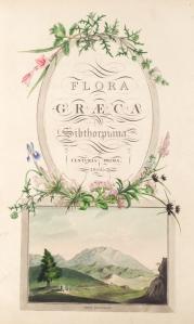 Flora Graeca, vol. 1
