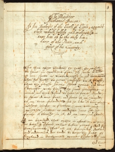 Apologie of the Earl of Essex