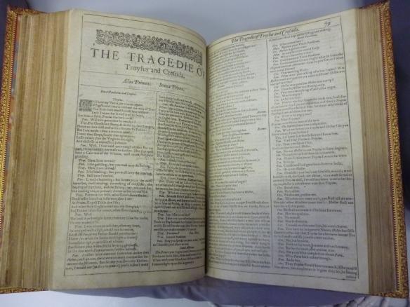 Shakespeare, First Folio